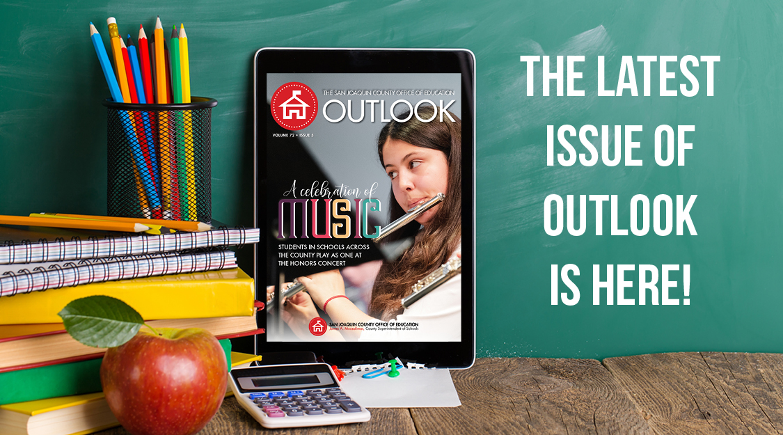 THE MAY ISSUE OF OUTLOOK IS HERE!